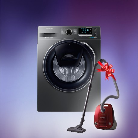 machine laver frontal add wash 9 kg inox aspirateur samsung brand shop. Black Bedroom Furniture Sets. Home Design Ideas