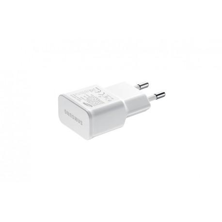 Chargeur Secteur 2A rapide Blanc
