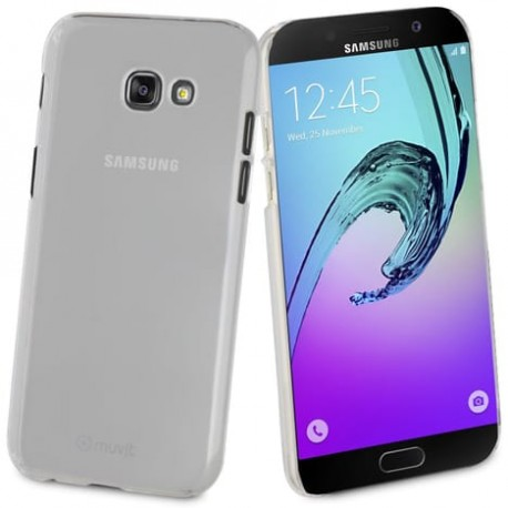 Muvit Coque Dure Crystal Transparente Pour Samsung Galaxy A5 2017
