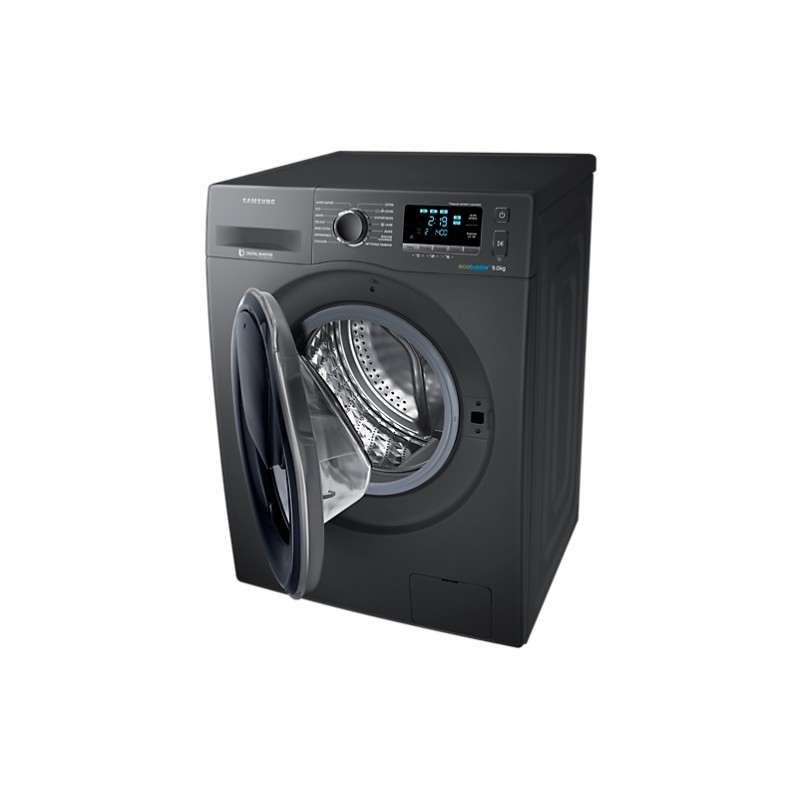 machine laver frontal add wash 9 kg inox samsung brand shop. Black Bedroom Furniture Sets. Home Design Ideas