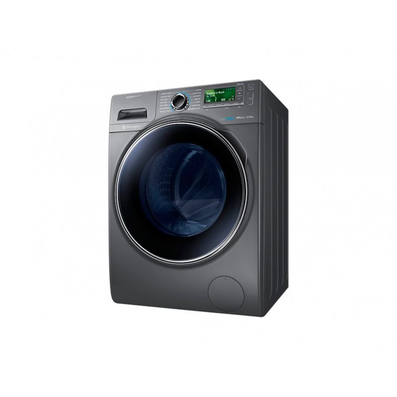 lave linge frontale 12kg eco bubble gris ww12h8420ex. Black Bedroom Furniture Sets. Home Design Ideas