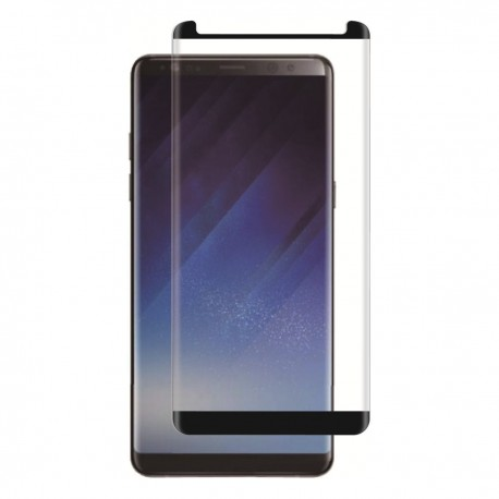 Verre trempé incurvé de protection Galaxy Note 8