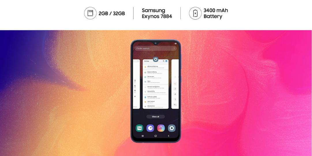 Samsung One UI Galaxy A30