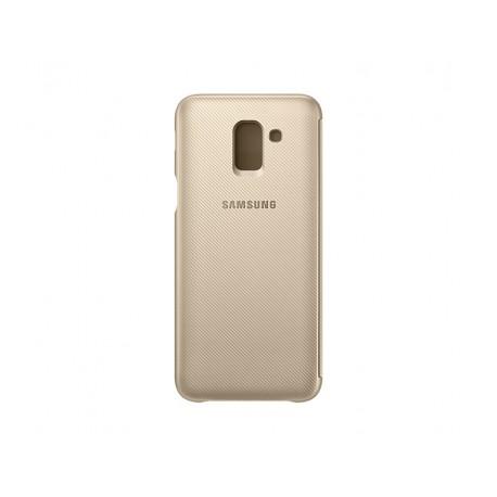 Flip Wallet Cover Galaxy  j6 2018
