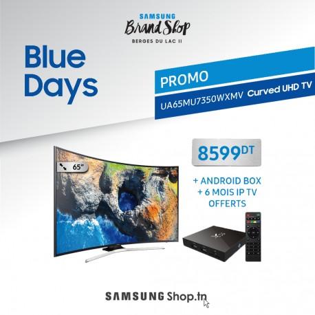 "65"" UHD 4K Curved Smart TV MU7350 Series 7"