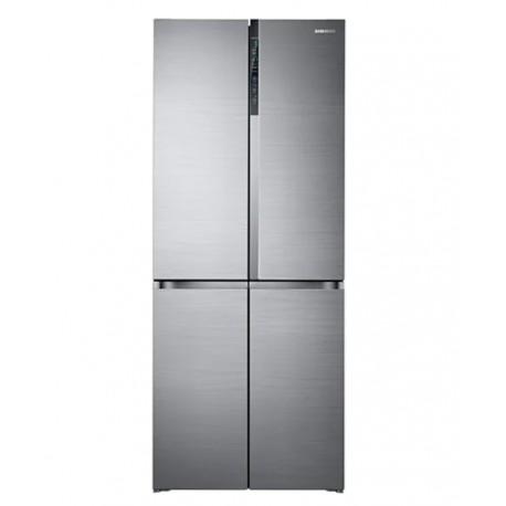 refrigerateur-side-by-side-rf50-silver-samsung-tunisie-prix
