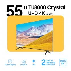 55 Pouce TU8000 Crystal UHD 4K Smart TV (2020)