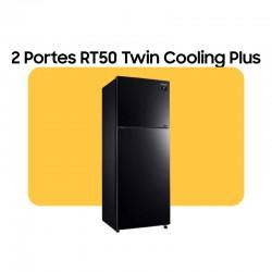 Réfrigérateur RT50 , Double portes, Black Glass Mirror