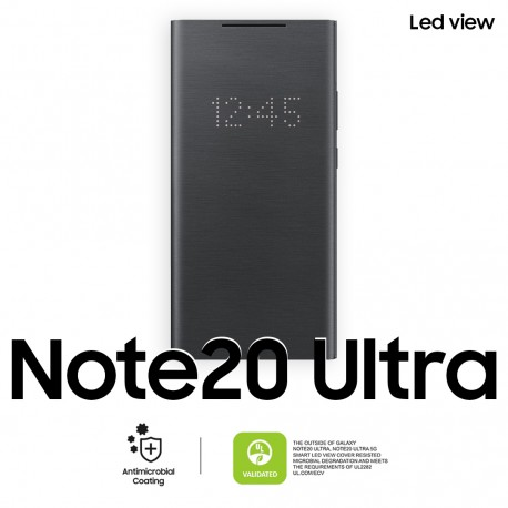 Étui Note 20 Ultra Led View Cover