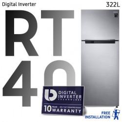 Réfrigérateur Samsung RT40 Mono Cooling  Silver