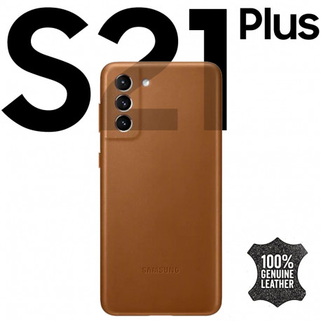 Galaxy S21 plus Leather Cover