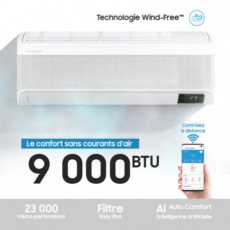 Climatiseur Triangulaire Split 9000 BTU Froid