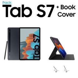 Galaxy Tab S7 + Galaxy Tab S7 Book Cover
