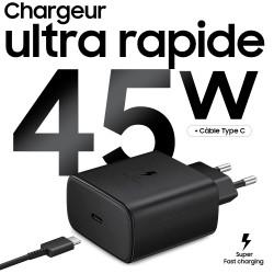 Chargeur Type-C 45W Ultra Rapide