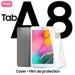Package Galaxy Tab A8 pouces + Film + Étui