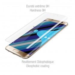 Coque transparente Or pour Galaxy S7 edge