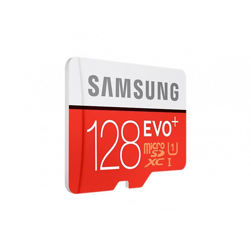 Carte Microsd Evo Plus 128 Go Samsung Brand Shop