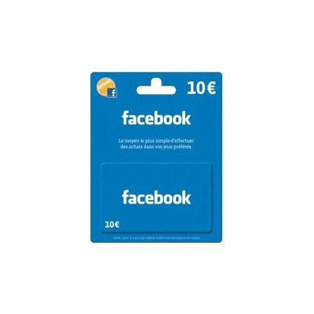 Carte Facebook