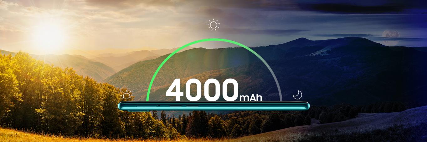 batterie de 4 000 mAh