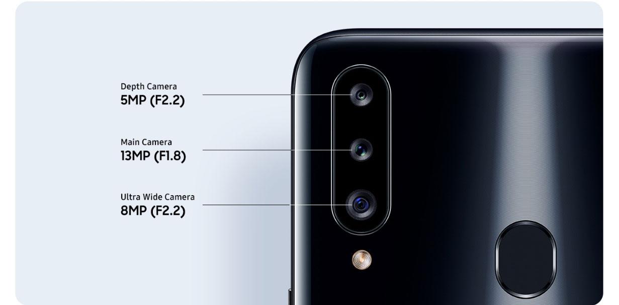 Galaxy A20s triple cameras